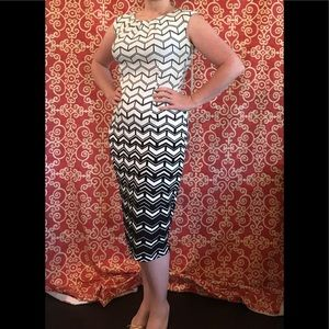 NWT Wiggle Dress Pencil Hourglass